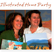 Illustrated Home Party